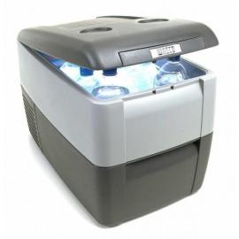 La nevera portátil de compresor al mejor precio. Gran volumen de refrigeración para camioneros y aficionados al ocio.