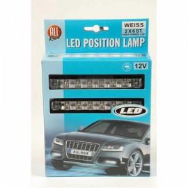 LUCES POSICION 12V LED BL.2