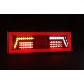 Piloto trasero led/neon izquierdo para tractora. Ultrafino. Intermitente dinamico.